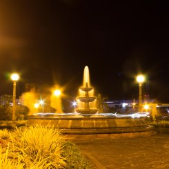 Light Painting in La Fortuna Park
