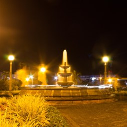 Light Painting in La Fortuna Park