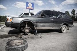 Hot. Bad Brakes.